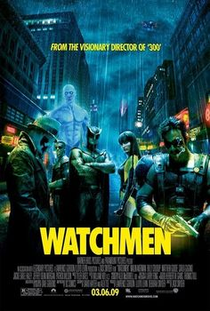 """Watchmen (2009) Poster:  Re-assembling myself was one of the first things I learned to do...after all, I've walked on the surface of the SUN. I can do almost anything I want to. But I cannot change #humanity"""" ~ Dr. Manhattan"""