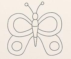 Cum se deseneaza un fluture. - By Oana Tudor, Hello Kitty, Shape