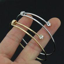 2016 nova mulheres venda quente da moda Gold & Silver Tone Cuff Bracelet…