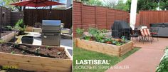 """LastiSeal® Concrete Stain & Sealer Customer Testimonial - """"We decided to stain the concrete to create a warmer and more inviting backyard. I researched concrete paints and stains for several months. I found the LastiSeal product during my research and told my husband this is the product for us. When I called to order, the sales person encouraged me to order a test sample to make sure..."""""""