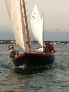 Herreshoff 12.5 Sailing
