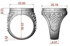 Ring St George printable model jewelry print formats STL, ready for animation and other projects Unique Mens Rings, Mens Silver Rings, Rings For Men, Womens Jewelry Rings, Women Jewelry, Luxury Jewelry, Metal Jewelry, Jewelry Art, Jewelry Design Drawing