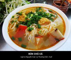 Bún Chả Cá - Huế #Travel #VietNam #Hue #Dacsan