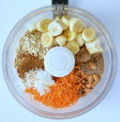 Carrot Cake Baked Oatmeal Breakfast Bars | Vegan