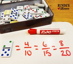 5 Hands-On Activities for Teaching Fractions that your Students will LOVE!  Make equivalent fractions
