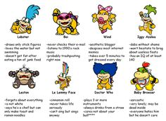 Lobster, Iggy Azalea, Boi, and Le Lemmy Face (I NEED TO CHILL WITH THE KOOPALING STUFF. Jk never)