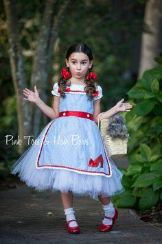 668ed3f265f47 Dorothy Tutu dress Wizard of oz tutu dress by GlitterMeBaby Wizard Of Oz  Dorothy Costume,