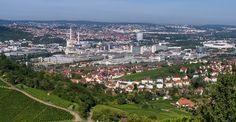 Rundflug über die Region Stuttgart – Video
