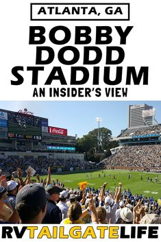 Bobby Dodd Stadium is home to the Georgia Tech Yellow Jackets. Find out everything you need to know before attending a game in Atlanta. Travel Hack, Travel Usa, Travel Tips, Bobby Dodd, Football Stadiums, Football Fans, Football Season, Georgia Tech Football, Atlanta Skyline