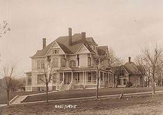1893 Hartwig House, Denison, Iowa...this home is still standing and currently operates as a bed and breakfast!