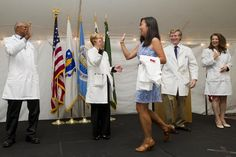 Boston University School of Medicine BUSM, MED, white coat ceremony 2014, talbot green