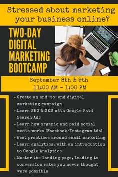 Need help with #digitalmarketing and don't know where to begin? LEARN through our #virtual 2-day #bootcamp on #marketingdigital. The most affordable way to #marketyourbusiness is to do it on your own, and we can help you learn #digitalmarketingtipsandtricks to keep your #smallbusiness, #onlinebusiness or #corporation on the trajectory for growth. Everyone is adjusting to the #newnormal of doing #businessonline so now is your time to shine! This #onlinemarketingevent is packed with value! Marketing Tactics, Marketing Quotes, Marketing Plan, Real Estate Marketing, Content Marketing, Affiliate Marketing, Online Marketing, Digital Marketing, Small Business Marketing