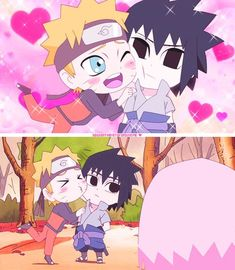 Naruto x sasuke lol Sasuke X Naruto, Anime Naruto, Naruto Comic, Naruto Cute, Naruto Shippuden Anime, Gaara, Sasunaru, Naruko Uzumaki, Narusasu