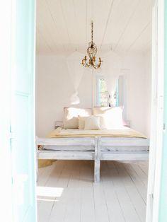 Claire Lloyd's Bedroom /// My Greek Island Home /// via sfgirlbybay Ways To Wake Up, You Wake Up, Deco Boheme, Blog Deco, Beautiful Bedrooms, Greek Islands, My Dream Home, Decoration, Interior And Exterior