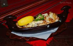 Гондола с пилешко месо... A gondol with chicken meat.