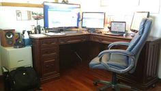 Hi tech home office.