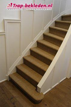 Laat uw trap bekleden met Sisal #sisal #carpet #stairs