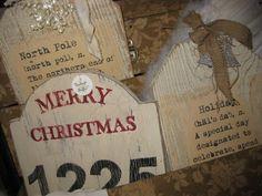 Christmas Signs - very creative