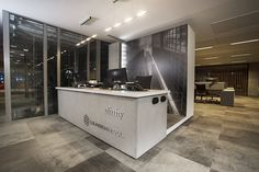 Efinity Office, Warszawa, Dye Lab tiles, architect: Dark Ink Studio