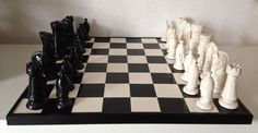 LARGE PORCELAIN CHESSBOARD | Europe | late 20th Century | #catawiki Online Auctions