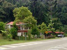 Crocker Range Park in Sabah on the Keningau-Kimanis highway that crosses the Crocker Range