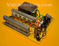 expandible 3000 Watt Generator, Power Supply Circuit, Electronic Schematics, Circuit Diagram, Audio Amplifier, Arduino, Diy, Canal 1, Summer