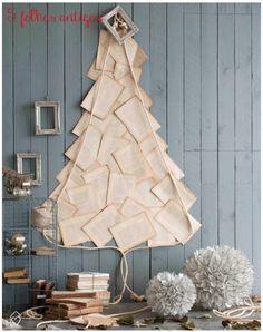 5 árvores de Natal criativas