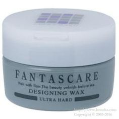 http://www.beauba.com/products/detail.php?product_id=12301 Napla Fantascare Designing Wax Ultra Hard 120g. #Styling #Wax  Styles hair while conditioning it with 4 naturally-extracted essences: herbal extract. fish-derived collagen / conchiolin and silk protein. Provides a detailed hair style with full control over movements in hair tips. hair roots and loose...