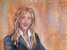 T Clarks Spirit Capture oil Portrait www.RobbiFirestone.com