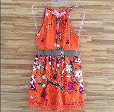Vestido Curto Floral | Vestidos | mariahflor