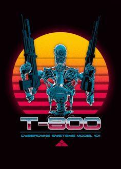 King Kong, Terminator Movies, Metal Gear Rising, Pop Art Drawing, Movie Poster Art, All Poster, Vaporwave Art, Fiction Movies, Mundo Comic