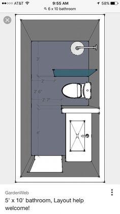 Super Bathroom Shower Tray Design 38 Ideas - Super Bathroom Shower Tray Design 38 Ideas Informations About Super Bathroom Showe - Bathroom Layout Plans, Small Bathroom Layout, Bathroom Design Layout, Tiny House Bathroom, Bathroom Interior Design, Bathroom Ideas, Bathroom Organization, Bathroom Designs, Bathroom Storage