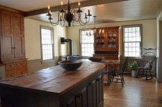Boston Saltbox Kitchen traditional