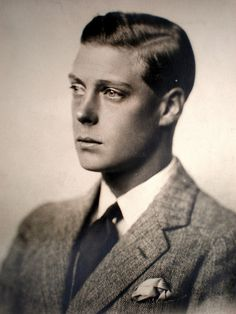 Edward VIII The Prince of Wales (later King  and Duke of Windsor)
