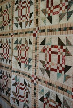 Anyone Can Quilt: Churndash