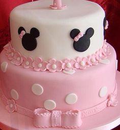 Torta mickey y minnie