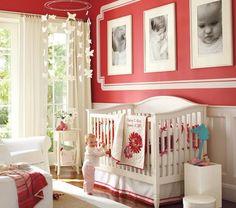 Fun, pretty, and unique color scheme for nursery