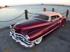 1952 Cadillac convertible #cadillac #caddy #50s #1950s #cars #car #custom #customs