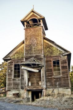 Old School Church | Flickr - Photo Sharing!
