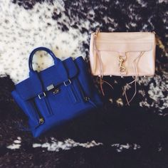 Weekday bag -> weekend bag. #pashli #mac #myRM #weekend @3.1 Phillip Lim #philliplim #vscocam #loves #blue #pink #igfashion #currentlywearing #...