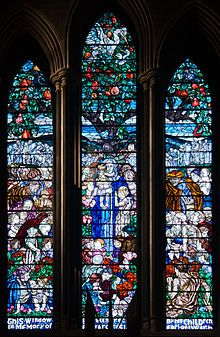 Iveagh Window in the North Transept of the St. The St, Stained Glass Windows, Cathedral, Dublin Ireland, Image, Stones, Pockets, Art, Rocks