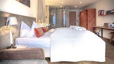 Unique double room in the Hotel Nidum!- Einzigartiges Doppelzimmer im Hotel Nidum! Unique double room in the Hotel Nidum! Hotels, Wellness Spa, Double Room, Relax, Resort Spa, Luxury, Bedroom, Architecture, Unique