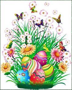 Easter Butterflies (42 pieces)