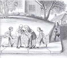 """Capybobby"" by Bill Peet (full post: http://www.michaelspornanimation.com/splog/?p=2584)"