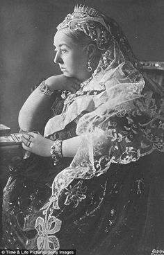 'I really cannot say how proud I feel to be the Queen of such a nation,' she wrote in her journal. The Queen at Buckingham Palace in the year of her Diamond Jubilee, 1897.
