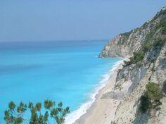 Praia de Egremni, Lefkada (Greece)