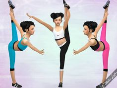 Lana CC Finds - Created By Fritzie.Lein Girls Nike Workout Set ...