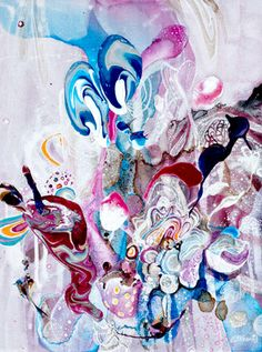 "Saatchi Art Artist Amanda Krantz; Painting, ""Forest Fungi"" #art"