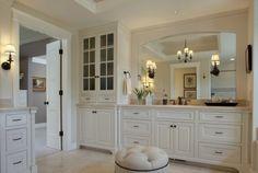 more bathroom cabinets!