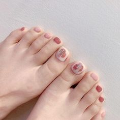 Manicure Nail Designs, Manicure And Pedicure, Nail Art Designs, Feet Nail Design, Feet Nails, Toe Nail Art, Nail Arts, Swag Nails, Beauty Nails